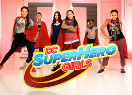 "Post image for Get Your Cape On"" – Megan Nicole & DC Super Hero Girls"